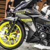 Tem xe Winner 150 - 405 - Tem xe Winner thiết kế Liqui Moli đen vàng