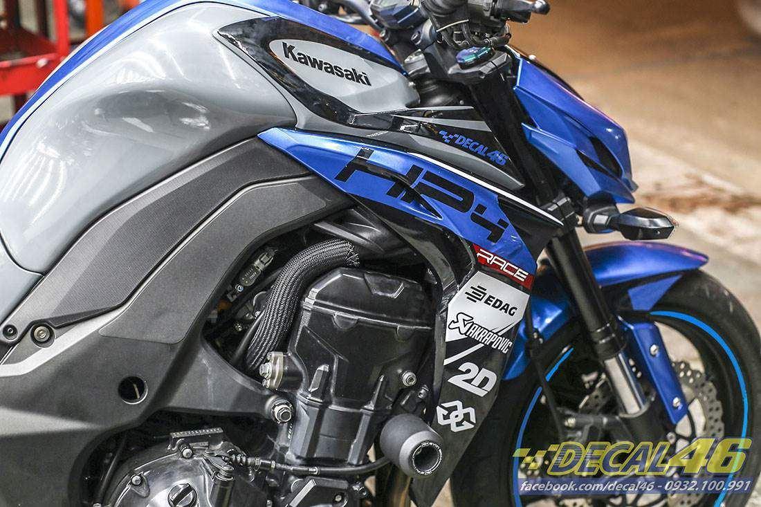 Tem xe PKL - Tem xe Z1000 thiết kế HP4 xám xi măng