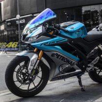 Tem xe Yamaha - Tem xe R15 Petronas candy