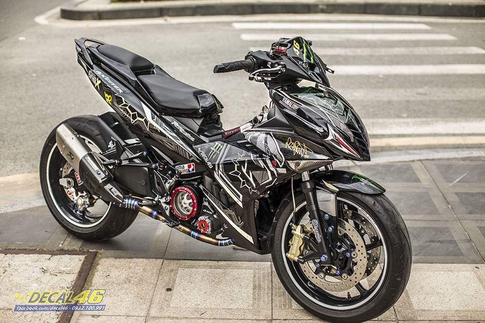Tem xe Exciter 150 - thiết kế Batman đặc biệt