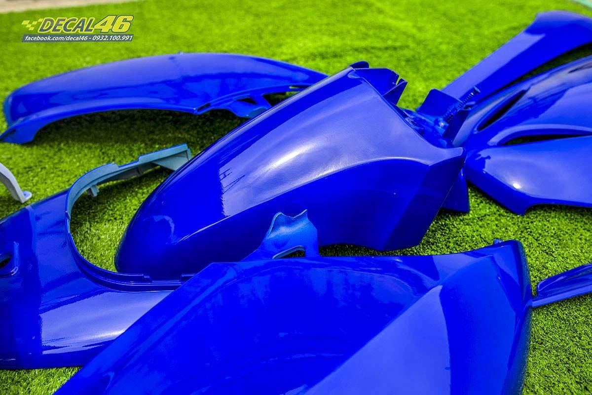 Sơn xe máy - Lead dàn áo xanh bóng