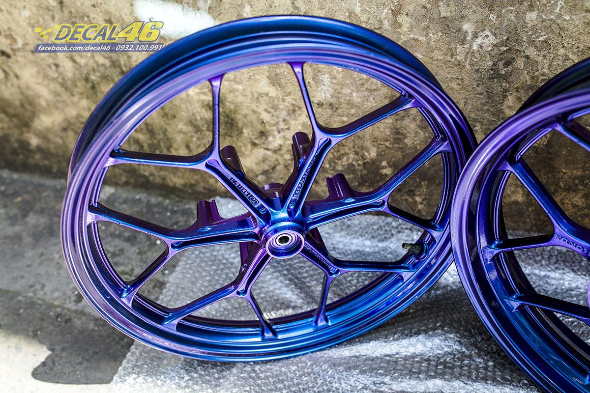 Mâm Winner - sơn Titanium xanh tím