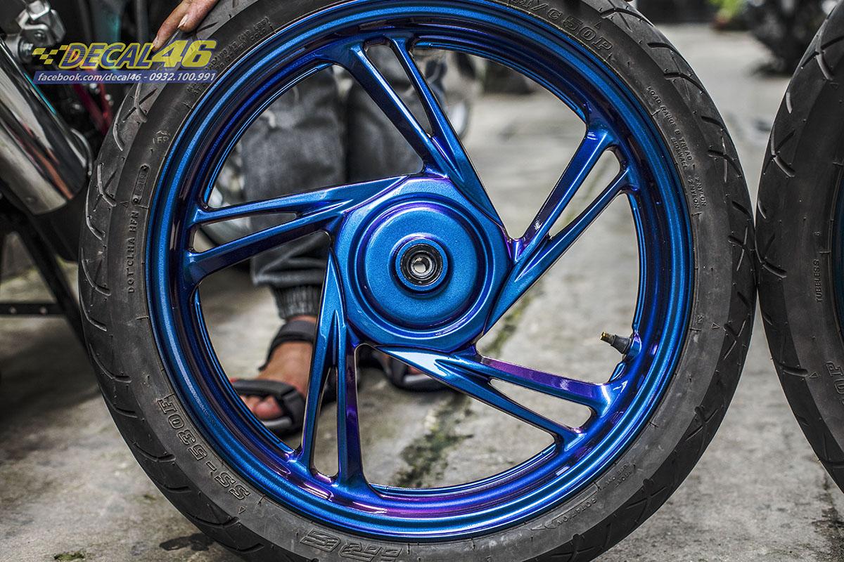Mâm SH - sơn Titanium xanh tím