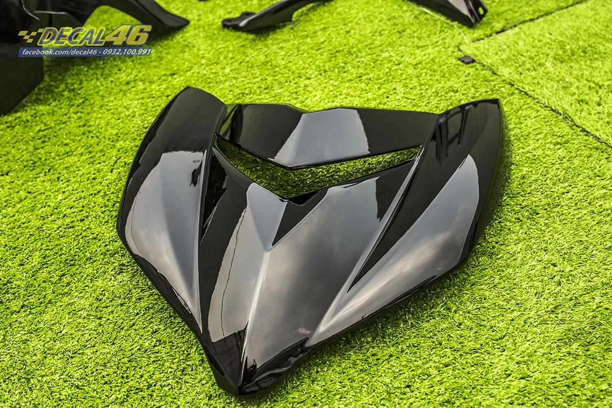 Sơn xe máy - Exciter 150 dàn áo đen bóng
