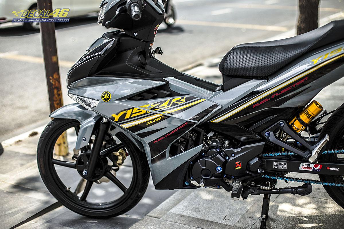 Tem xe Exciter 150 2019 - 094 - thiết Y15ZR xám xi măng